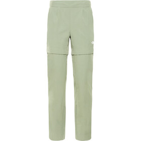 The North Face Inlux Convertible Pants Women four leaf clover